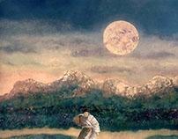 "Japanese folk tale ""unfinished tanka """
