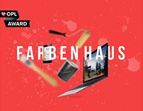 Farbenhaus | Landing page