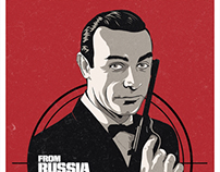 From Russia with Love alternative movie poster