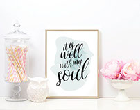 Etsy Designs - Watercolor Art