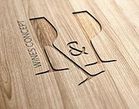 R&P Wines Concept   Identity