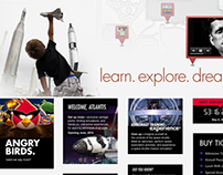 Kennedy Space Center Visitor Complex Website Redesign