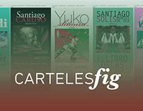 Diseño | Carteles Invitados al FIG