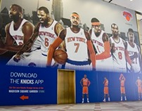 New York Knicks 2013-14 Branding - NY MADE