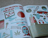 Illustrative Magazine Spread