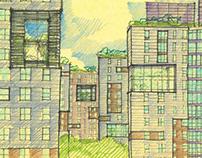 Public Housing Re-skinned