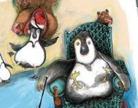 breve história do pinguim...