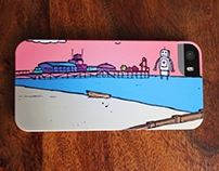 Bournemouth Pier iPhone case