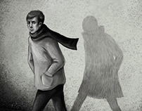 "Illustrations for J. Žilinskas book ""KGB Children"""