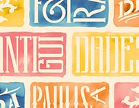 Paulista Antiques Fair Poster