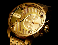 Diesel Bling Watch