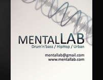 Mental Audio Business Cards