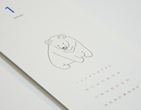 2014 calendar about endangered animals in korea