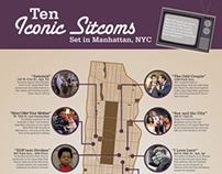 Infographic: NYC Sitcoms