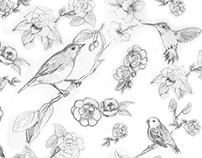 Ilustraciones para textiles
