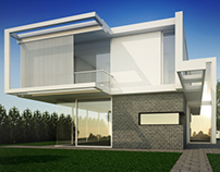 Villa Modeling Design