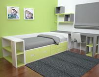 Bedrooms / 3D Renders