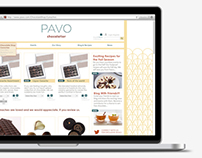Pavo Web & Mobile Concept