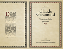 Type Specimen - Claude Garamond