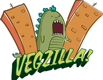 Vegzilla Clothing Website & Branding