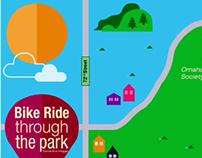 Bike ride through the park