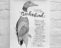 Eendenkind / Poster design / GDFB 2014
