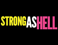 "Tshirt Design—Females are ""Strong As Hell,"" March 2015"