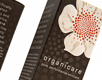 Packaging design: Organicare, beauty packaging