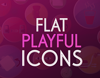 FLAT PLAYFUL ICONS