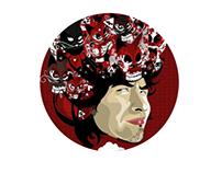 SELF PORTRAITS (Adobe Illustrator)