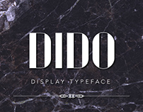 DIDO | display typeface