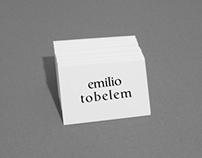 Emilio Tobelem - Identity