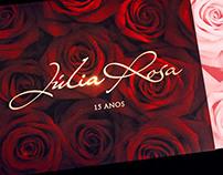 Julia Rosa | Convite