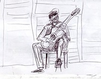 Sketching in Guitar Concerts