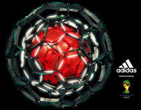 adidas 2014 World Cup  match ball launch animation