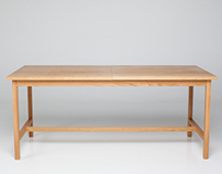 Extendable Modern Country Table