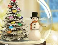 Snowman - Cinnamon Jelly Belly Beans