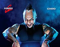 Casio Shock Team Game