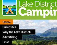 Lake District Camping Website