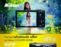 Reseller Offer Alert-Nikon COOLPIX S5200 Web Banner