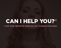 """On-Call"" - app for remote specialist consultations"