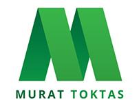 Murat Toktaş logo design