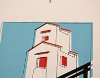 Pruebas serigrafía para la pintora Carmen Maura