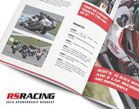 RS RACING // Sponsorship Proposal