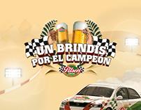Pilsen Callao :: FB APP Un Brindis por el Campeón 2012