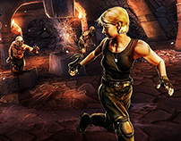 Stargate SG-1 Unleashed Marketing Game Art