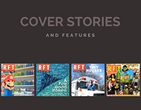Cover Stories/Inside Features