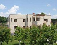 Mansion reconstruction in Dzoraghbyur village, Armenia
