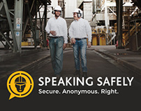 AES Speaking Safely - Website Design
