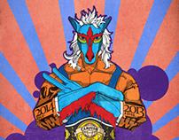 [2014]Blue horse wrestler